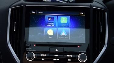 Subaru Forester e-Boxer - infotainment
