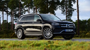 Mercedes GLS - front static