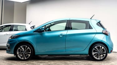 Renault ZOE - side