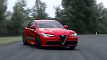 Alfa Romeo Giulia - screen grab