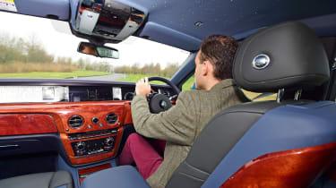 Building a Rolls-Royce Phantom - driving