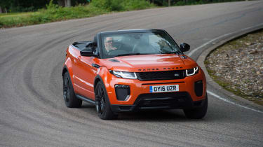 Range Rover Evoque Convertible - front cornering