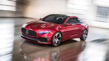 Mercedes Concept A Sedan - front tracking