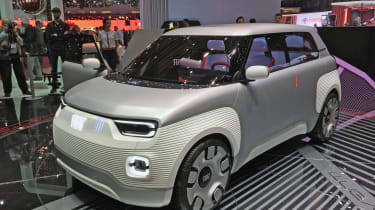 Fiat Centoventi Concept front quarter