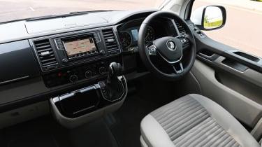 Volkswagen California Ocean long termer - first report dash