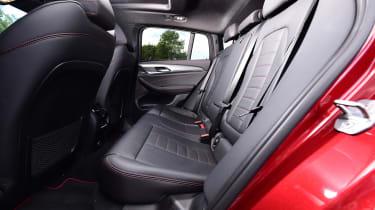 BMW X4 - back seat
