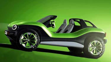 Volkswagen ID. Buggy concept - side