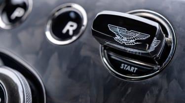 Aston Martin Vanquish S - starter button