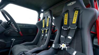 David Brown Automotive Mini Remastered Oselli Edition - seats