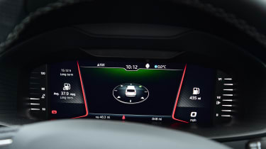 skoda karoq digital dashboard