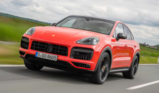 Porsche Cayenne Turbo Coupe - front