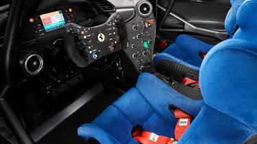Ferrari P80/C - interior