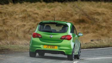 Vauxhall Corsa VXR - rear cornering