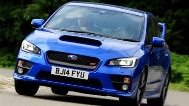 Subaru WRX STi 2014 - cornering