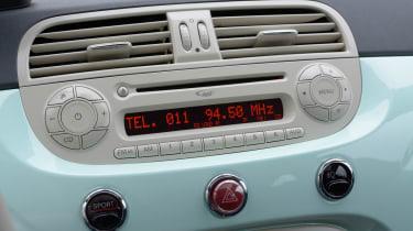 Fiat 500 Cult 2014 dials