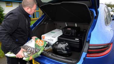 Long-term test review: Porsche Macan - loading boot