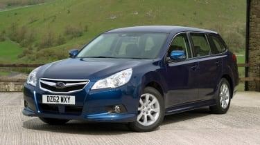 Subaru Legacy 2.0 ES front static
