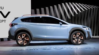Subaru XV concept - side