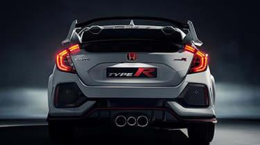 Honda Civic Type-R rear leaked pic