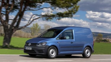 Volkswagen Caddy - tracking
