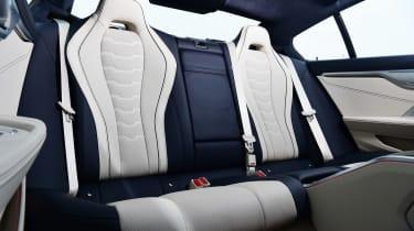BMW M850i xDrive Gran Coupe - rear seats