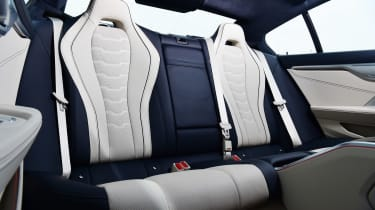 BMW M850i xDrive Gran Coupe - rear seats