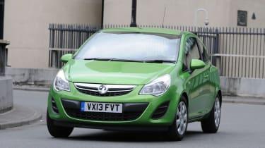 Vauxhall Corsa ecoFLEX front action