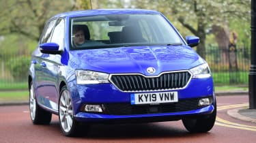 Skoda Fabia SE L: long-term test review - first report front action