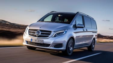 The V-Class is the replacement for the Viano.