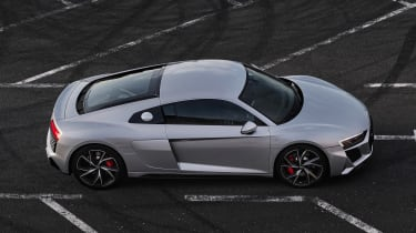 Audi R8 RWD Coupe - side above