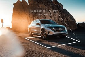 what3words location Mercedes EQC1