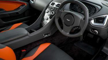 Aston Martin Vanquish 2014 interior