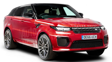 Range Rover Sport Coupe - front (watermarked)
