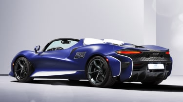 McLaren Elva windscreen variant - rear