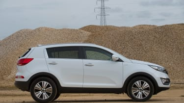 Used Kia Sportage Mk3 - side