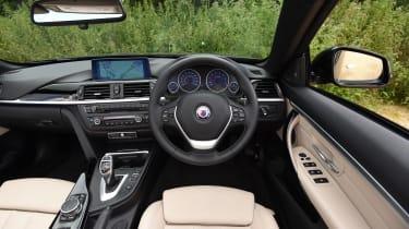 Alpina B4 Biturbo Cabrio 2016 - interior