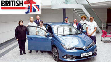Best of British, Toyota factory