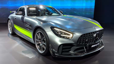Mercedes-AMG GT R Pro - LA Motor Show - front