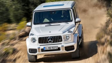 New Mercedes-AMG G 63 - front