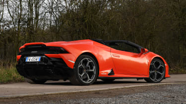 Lamborghini Huracan Evo Spyder - rear static