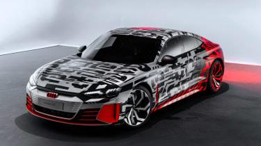 Audi e-tron GT Concept front quarter