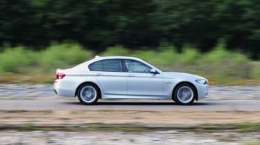 BMW 520d profile