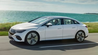 Mercedes EQE - front white
