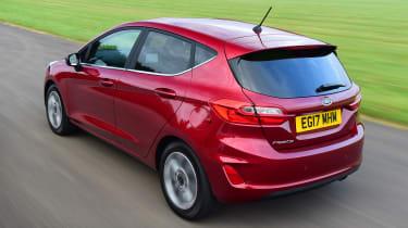 Ford Fiesta - rear