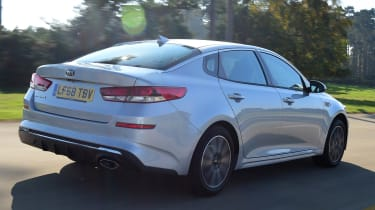 Kia Optima - rear tracking