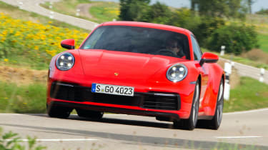 Porsche 911 Carrera - tracking