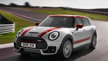 MINI JCW Clubman - front action