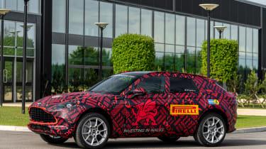 Aston Martin DBX - pre-production model - side