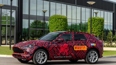 Aston Martin DBX - pre-production model - side