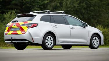 Toyota Corolla Commercial hybrid van - rear